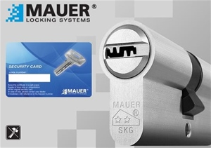 Simple cylinders for armored doors MAUER